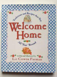 料理本 ■ARTBOOK_FLEAMA■ B2-106 ★ 送料無料 トラディショナル レシピ Welcome Home リズ・コーエン・ファーマン