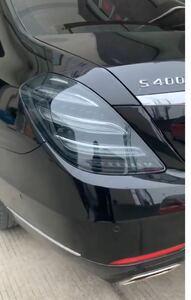 メルセデスベンツ Sクラス W222 前期 後期 ルック 仕様 テールランプ セット テールライト リア インナーブラック