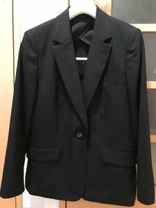 期間限定!値下げ!スーツ 黒無地 テーラードジャケット