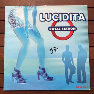 ●【eu-rap】Royal Station / Lucidita [12inch]オリジナル盤《4-1-74》