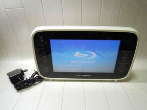 M15243*TWINBIRD/ Twin Bird /ZABADY/ портативный водонепроницаемый телевизор /BR-J921/13 год производства / адаптер (THX-090150KDJ) имеется