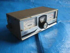 valuable! retro SWR OSKER SWR-200 Showa era. old model. shoB-waA5