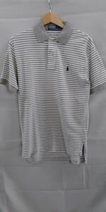 POLO RALPH LAUREN ポロラルフローレン 半袖ポロシャツ グレー S
