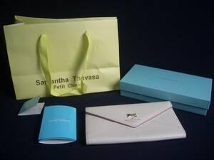 Samantha Thabasa Petit Choice★サマンサタバサ プチチョイス/三つ折り長財布★kb694