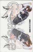 【テレカ】八神ひろき アッパーズ G-taste ヤングマガジンアッパーズ 1YM-S0092 Aランク