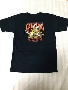 [新品] Powell Peralta Steve Caballero Tシャツ ネイビー スケートボード パウエル スティーブキャバレロ オールドスクール 80s