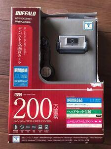 バッファロー BUFFALO WEBカメラ BSW20K05HSV