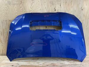 R20610 スバル WRX VAB 純正 ボンネット 要補修 ブルー