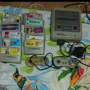 値下げ× スーパーファミコン 本体とカセット 11本