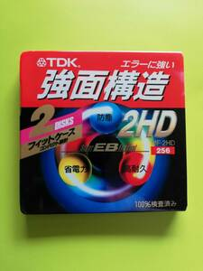 TDK # 3.5 -inch MF2HD-256 2PS DOS/V for format settled floppy disk 2 sheets insertion a little over surface structure floppy new goods unused unopened ( production end goods )