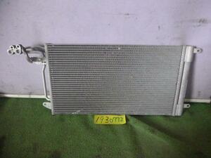 送料無料! VW ポロ 6RCBZ クーラーコンデンサー エアコンコンデンサー BEHR 6R0820411D 69,571km