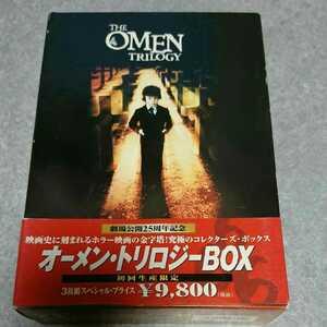 オーメンDVD BOX ホラー映画 ダミアン 名作ホラー