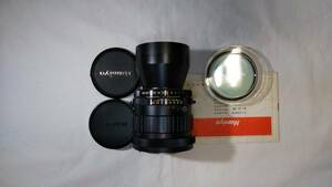 ★MAMIYA★マミヤ MAMIYA-SEKOR 1:4.5 f= 250 mm Mamiya RB カメラ用 美しい外観の中古レンズです。