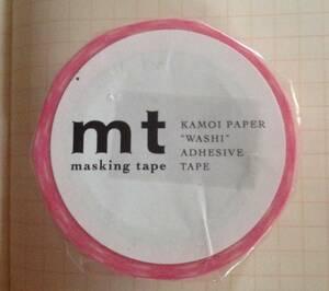マスキングテープ ♪ mt ♪カモ井加工紙♪ストライプ ピンク