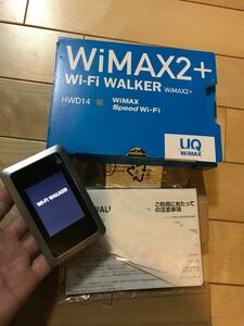 Wi-Fi Walker HWD14 ポケットWiFiルーター UQ