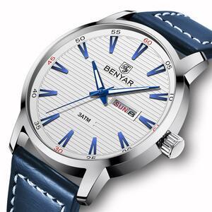 BENYAR メンズ 腕時計 日付 男性 クォーツ 時計 S1177