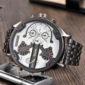 Oulm メンズ 腕時計 男性 クォーツ 時計 S1056