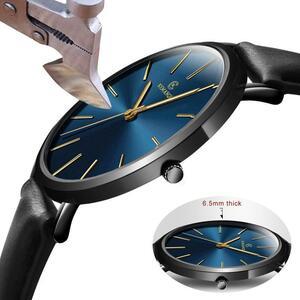 超薄型 腕時計 メンズ KEMANQI 時計 男性 クォーツ S1125