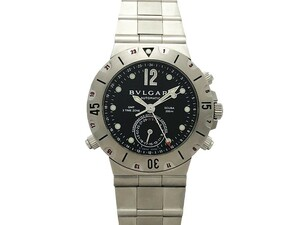 ブルガリ BVLGARI スクーバ GMT メンズ腕時計 SD38SGMT 自動巻 ポリッシュ済