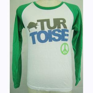 ゆうパケット便 訳あり Turtoise タータス 長袖Tシャツ MOTOR 女 GRN/M (2 L/S