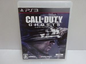 良品 PS3ソフト CALL OF DUTY GHOSTS コール オブ デューティ ゴースト メール便