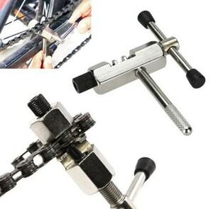 h688 サイクリング鋼部品自転車チェーンブレーカーカッター除去ツールサイクル固体修復ツール自転車チェーンピンスプリッタデバイス