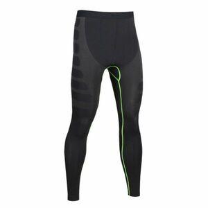 送料無料 新品 ランニングウェア ロングタイツ メンズ XLサイズ ブラック グリーン パンツ トレーニング スポーツ アウトドア 加圧 6020