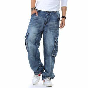 大きいサイズ★ジーンズ メンズ バギーパンツ デニムパンツ デニム カーゴパンツ ヴィンテージ アメカジ W32