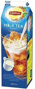 【送料無料】【冷蔵発送】森永乳業 リプトン ミルクティー 900ml×12本