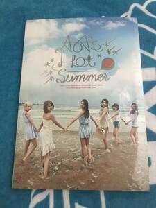 廃盤 レア ◆ 新品未開封 ◆ AOA 【 AOA's Hot Summer 】 韓国盤 写真集 DVD付 ◆ 1st フォトブック 完売品 日本未発売