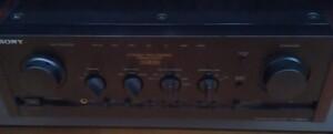 (( one months guarantee ))** SONY Sony TA-F333ESG pre-main amplifier operation OK ( north )