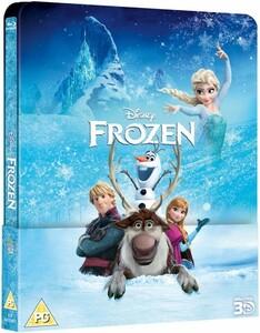アナと雪の女王 3D+2D ブルーレイ スチールブック レンチキュラーマグネット