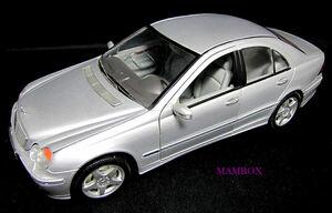 【フリマ】WE☆1/18 9853 メルセデスベンツ Mercedes-Benz C-Class 外箱・ケース無し