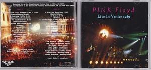 Pink Floyd ピンク・フロイド - Live In Venice 1989 ボーナス・トラック1曲収録二枚組CD