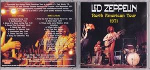 Led Zeppelin レッド・ツェッペリン - North American Tour 1971 二枚組CD-R