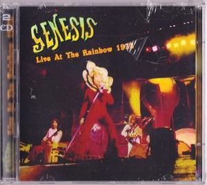 Genesis ジェネシス - Live At The Rainbow 1973 ボーナス・トラック4曲収録二枚組CD