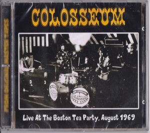 Colosseum コロシアム - Live At The Boston Tea Party, August 1969 ボーナス・トラック4曲追加収録CD