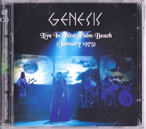 Genesis ジェネシス - Live in West Palm Beach (January 1975) 二枚組CD