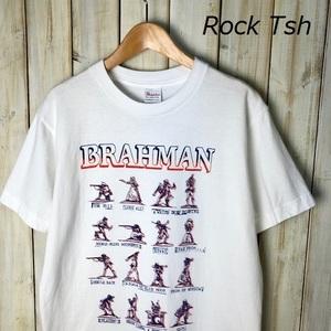 バンドT・ロックT BRAHMAN ブラフマン Tシャツ S 白 2004 THE MIDDLE WAY 3rd メロコア ハードコア ●33