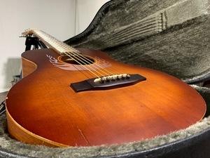 . огненный узор . бесплатная доставка ★Cooder by Takamine★CM-3 FIRE★ акустическая гитара ★ труба G-239