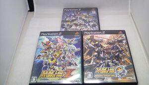 N82★3本セット★スーパーロボット大戦 Z/OG/Scramble Commander★PS2★送料無料★プレイステーション2ソフト