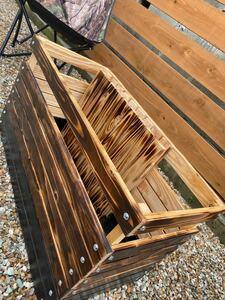 アウトドアボックス&テーブル ベンチ