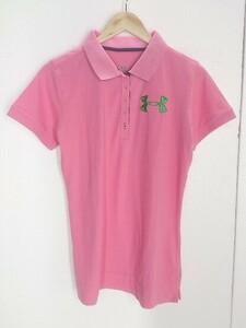 ◇ UNDER ARMOUR アンダーアーマー 半袖 ポロシャツ サイズXL ピンク レディース 1002800874576