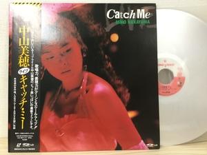 【G286】中山美穂 / キャッチ・ミー / レーザーディスク