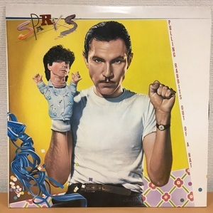 【M231】Sparks/Pulling Rabbits Out of a Hat 7-80160-1/Atlantic/US LP スパークス