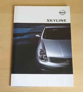 旧車カタログ ニッサン スカイライン 2002年版 新品