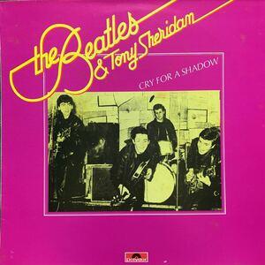 LP * The Beatles & Tony Sheridan「Cry For A Shadow」2486 258イタリア盤 ザ・ビートルズ polydor John Lennon Paul McCartney レコード