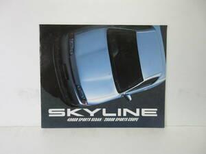 当時物 【日産 SKYLINE 4DOOR SPORTS SEDAN スカイライン NISSAN】 カタログ パンフレット 四輪車 国産車 仕様 ボディ旧車 昭和 レトロ
