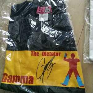 Gamma直筆サイン入りTシャツ 大阪プロレス 元ドラゴンゲート