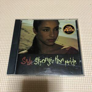 シャーデー Sade Stronger Than Pride USA盤CD